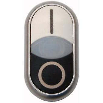 إيتون M22-DDL-WS-X1/X0 زر ضغط الرأس المزدوج الأبيض، أسود 1 جهاز كمبيوتر (أجهزة الكمبيوتر)