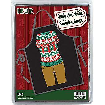 Apron - Presents and Holiday Wreath Ugly - Christmas Sweater 13739