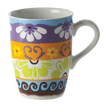 Rose & Tulipani Nador Mug , Light Blue