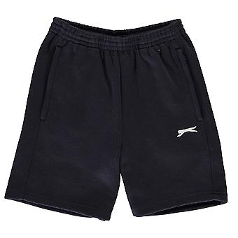 Slazenger niños niños fleece shorts Junior pantalones pantalones pantalones pantalones Zip cordón