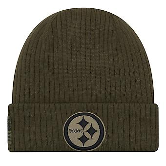 New era salute to service winter Hat - Pittsburgh Steelers