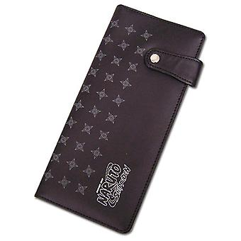 Hinge Wallet - Naruto Shippuden - Shuriken Pattern Girls New Licensed ge61521
