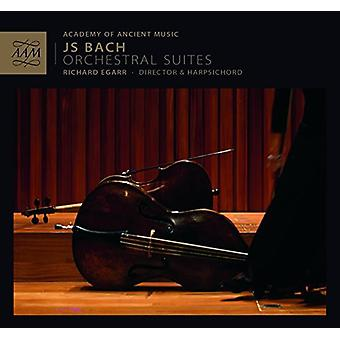 Bach, J.S. / Egarr / Academy of Ancient Music - Orchl Suites Bwv1066-69 [CD] USA import