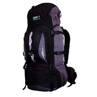 High Peak Sirius - Unisex Backpack? Adult - Black/Grey - 80 litres.