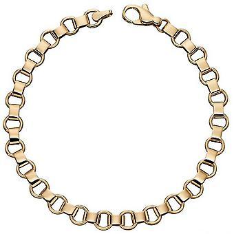 Elements Gold Circle Link Bracelet - Or