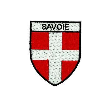 Patch Ecusson Brode rugzak vlag Blason land armen Savoy Savoyard cross