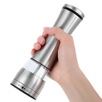 Electric Battery Salt Pepper Grinder Adjustable Shakers Automatic