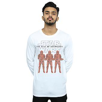 Star Wars Uomini's L'ascesa di Skywalker Stormtrooper Colore Lineup T-Shirt a maniche lunghe