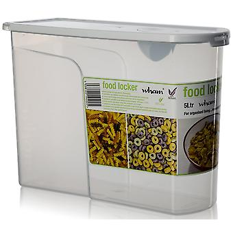 Wham Storage Food Locker Plastic Cereal Containers