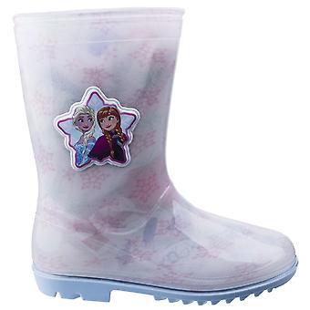 Leomil Childrens Girls Frozen Elsa Snow Flake Wellington