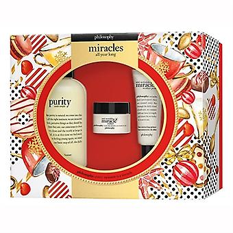 Philosophy Miracles All Year Long 3 Piece Set