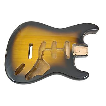 Hosco Strat Body Tobacco Sunburst