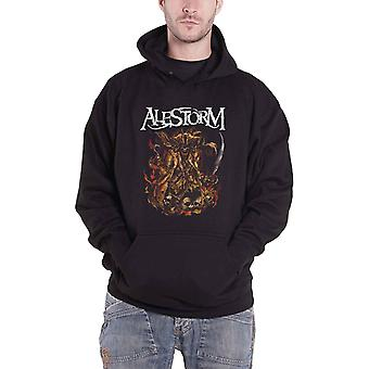 Alestorm Hoodie We Are Here To Drink Your Beer new Official Mens Black Pullover