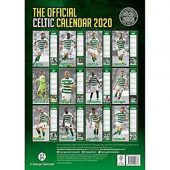 Celtic FC 2020 Calendar