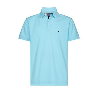 Tommy Hilfiger Regular Polo Shirt Blue Quartz