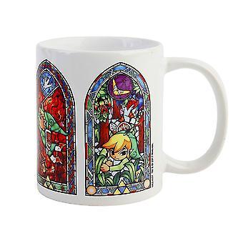 Zelda, Tasse - Vitraux
