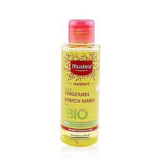 Mustela Maternite Stretch Marks Oil (sin fragancia) - 105ml/3.5oz
