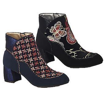 Ruby Shoo Women's Karolina Low Heel Boots
