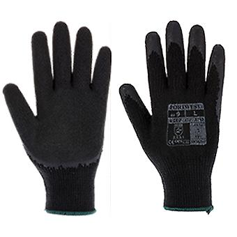 Portwest a150 fortis workwear grip gloves - latex