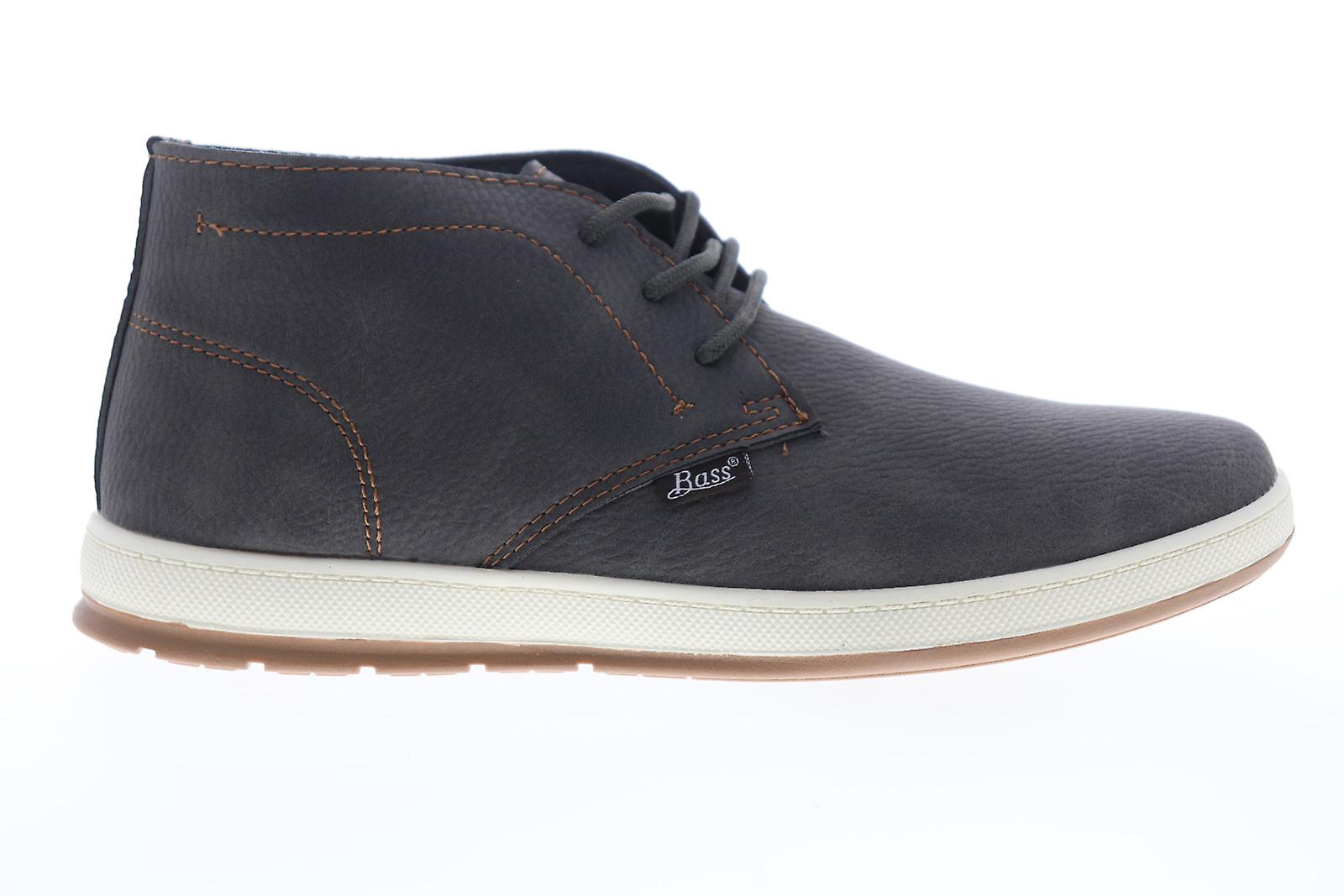 G.H. Bass Sonoma 2 Wx B Mens Gray Leather Lace Up Chukkas Boots - Remise particulière