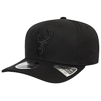 New Era 9Fifty Stretch Snapback Cap - Milwaukee Bucks