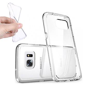 Stuff certificeret® 5-Pak transparent klar silikone taske Cover TPU sag Samsung Galaxy S7