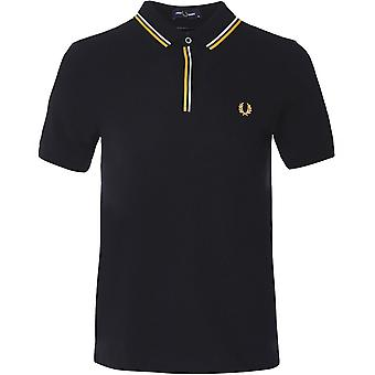 Fred Perry Tipped Placket Polo Shirt M8559 102