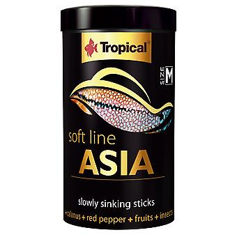 Tropical 67724 Soft Line Asia M 250 ml (Fish , Food , Warm Water)