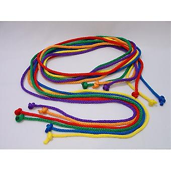 EVA-0011, Durable Nylon Jump Ropes - ensemble de 6 couleurs, 7-apos; L