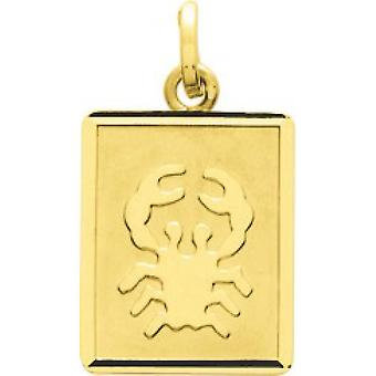 M daille zodiac cancer or 750/1000 yellow (18K)