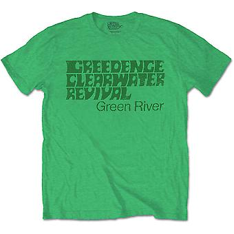 Creedence Clearwater Revival Green River Officiel T-Shirt Unisex