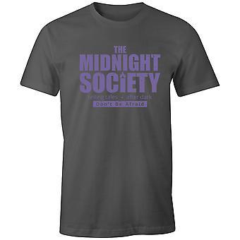 Pojat Crew Neck Tee Lyhythihainen Miesten T-paita- Midnight Society kertoo Tarinoita