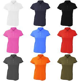 SOLS Womens/Ladies Prescott Short Sleeve Jersey Polo Shirt