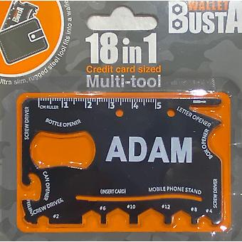 Multitool Multitool ADAM kredittkort debetkort