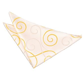 Guld rulle Pocket Square