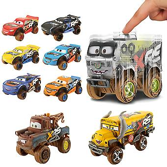 5-Pack Cars Cars Mud Racing With Genuine Suspension Metal 7-10cm 1:55