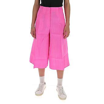Jacquemus 201pa0220108450 Women's Fuchsia Cotton Pants