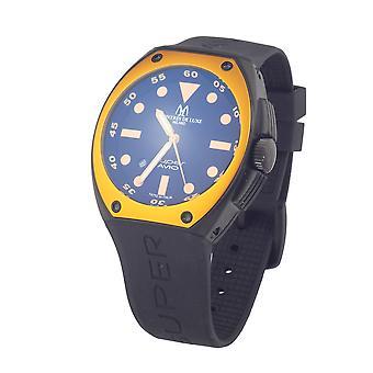 Men's Watch Montres de Luxe 09SA-BK-1002 (48 mm) (Ø 48 mm)