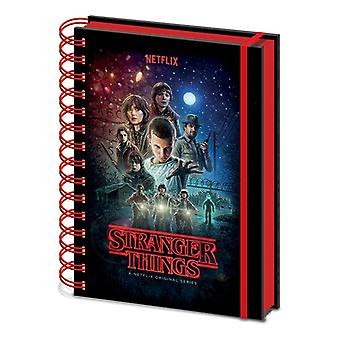 Stranger Things Yksi arkki A5 Notebook
