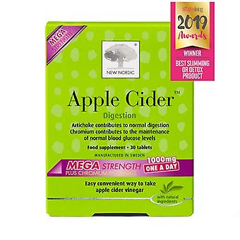 New Nordic Apple Cider Mega Strength 1000mg Tablets 90 (NLF065)