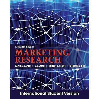 Marketing Research (11th International student edition) by David A. A