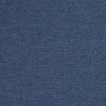 Nero denim blue linen curtains
