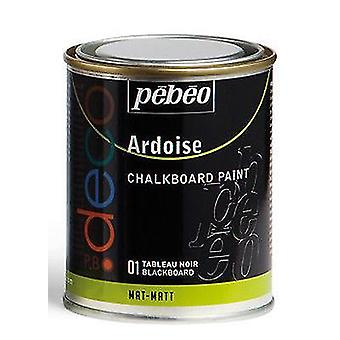 Pebeo Chalkboard Matt Paint 250ml (01 Blackboard)