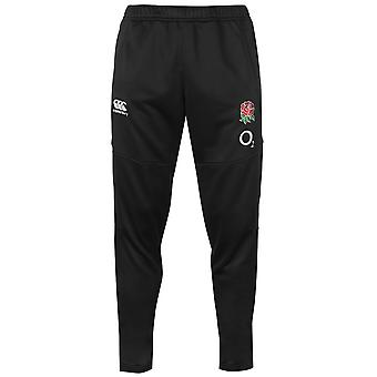 Canterbury Mens England Poly Knit Tracksuit Bottoms
