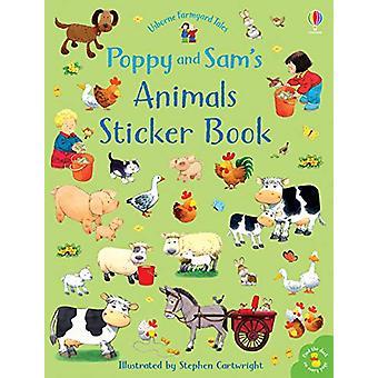 Poppy and Sam's Animals Sticker Book by Sam Taplin - 9781474952774 Bo