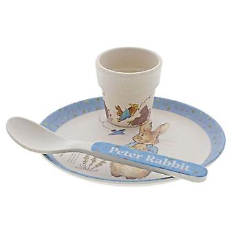 Peter Rabbit Bambus Eierbecher Set