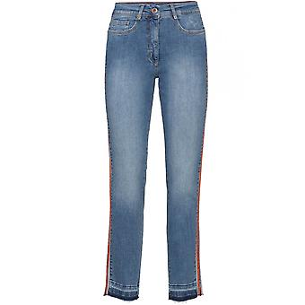 Bianca Blå Denim Jeans