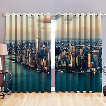 Loft 25 Digital Printed 3D 'New York' Design Eyelet 52