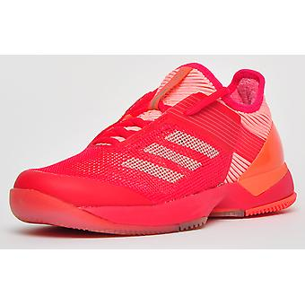 Adidas Adizero Ubersonic 3 Rose Rouge / Pêche légère