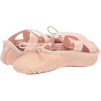 Leo Girls' Ensemble Dance Shoe, Ballet Pink, 11 B US Little Kid
